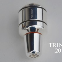 AQUADEA Trinity Silber Kristall<p>Trinkwasserwirbler<br>Bergkristall-Rosenquarz-Amethyst