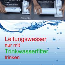 """Unser Leitungswasser – """"Sauber sieht anders aus"""""""