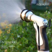 Garten Impuls Spritze mit<p>3 Aquadea Kristall-Wirbelkammern