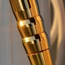 Harmony3 Gold-Bergkristall<br>Wasserwirbler für Kristallwasser durch Wirbeltechnik mit Implosion