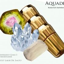 Aquadea Empowerment Gold 3<p>Wasserverwirbler Labor Dr. Emoto zertifiziert<p>LifeSource special edition