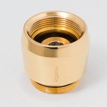 Aquadea Wirbel Modul Gold Bergkristall